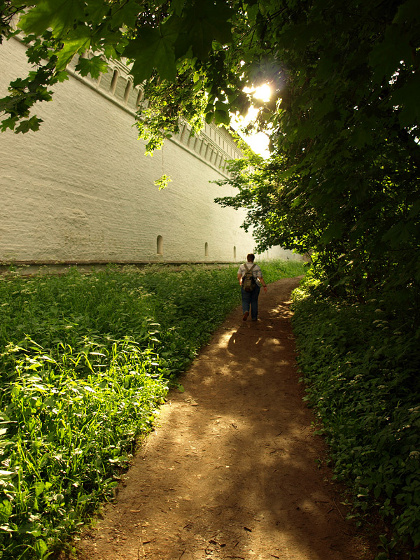 Прогулка вокруг стен Новый Иерусалим, лето 2010