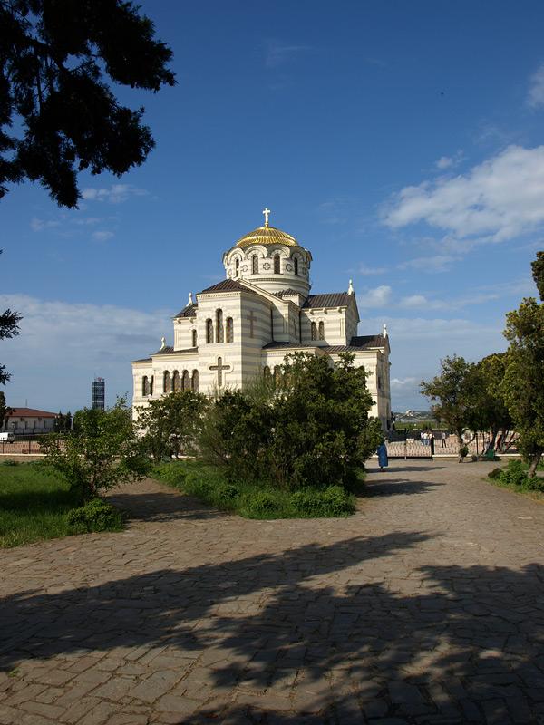 Храм. Херсонес, Крым, весна 2010