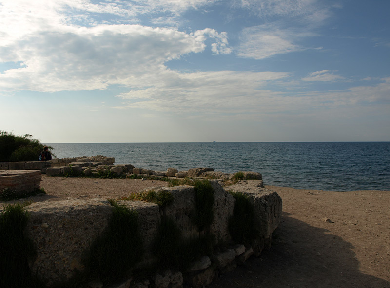 Морской простор. Херсонес, Крым, весна 2010