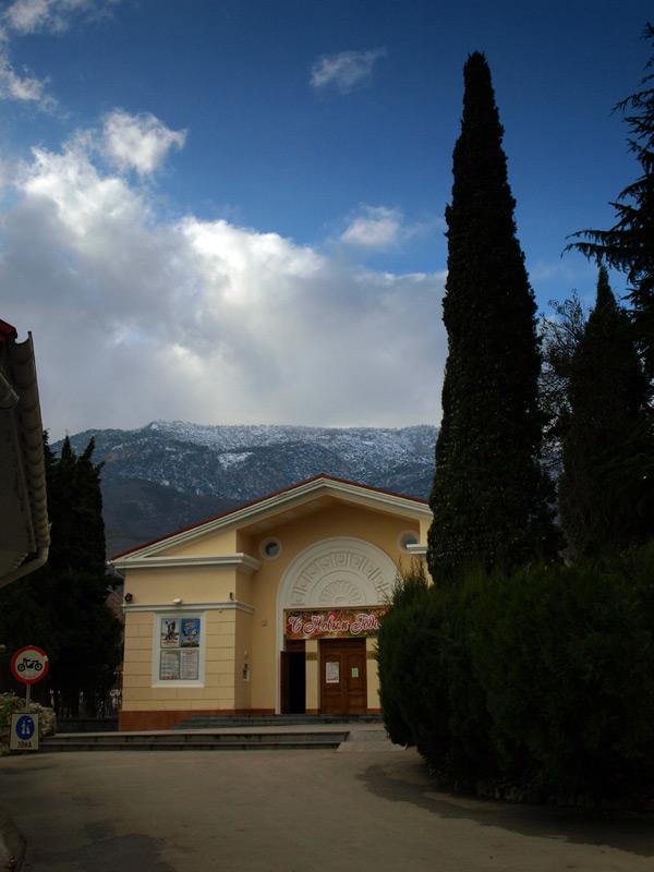 В Гурзуфе...  Гурзуф, Крым, зима 2011