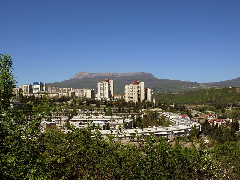 Гора Чатыр-Даг Алушта, Крым, весна 2010