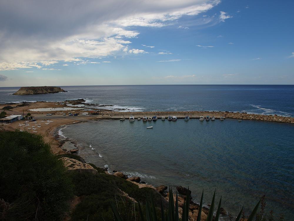 Остров Святого Георгия.   Кипр, осень 2014
