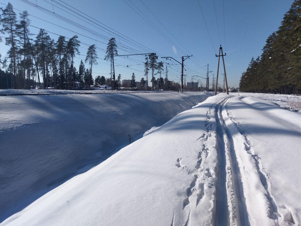 Нахабино, Подмосковье, весна 2018