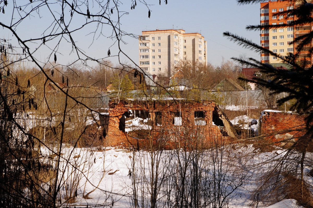 Дедовск, Подмосковье, весна 2017