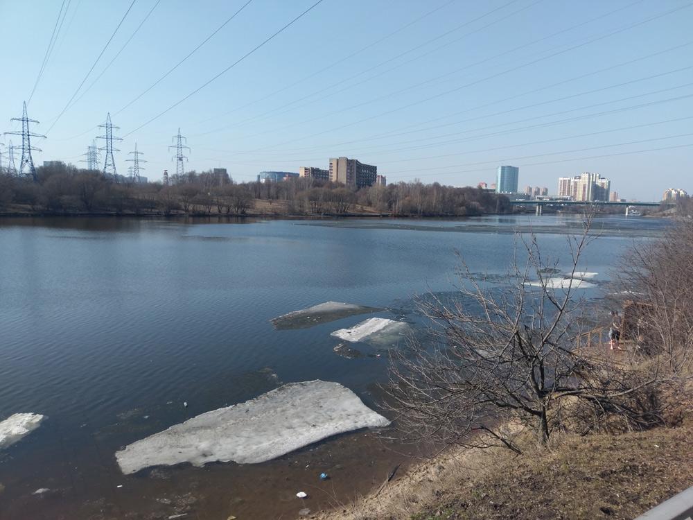 Москва, весна 2018