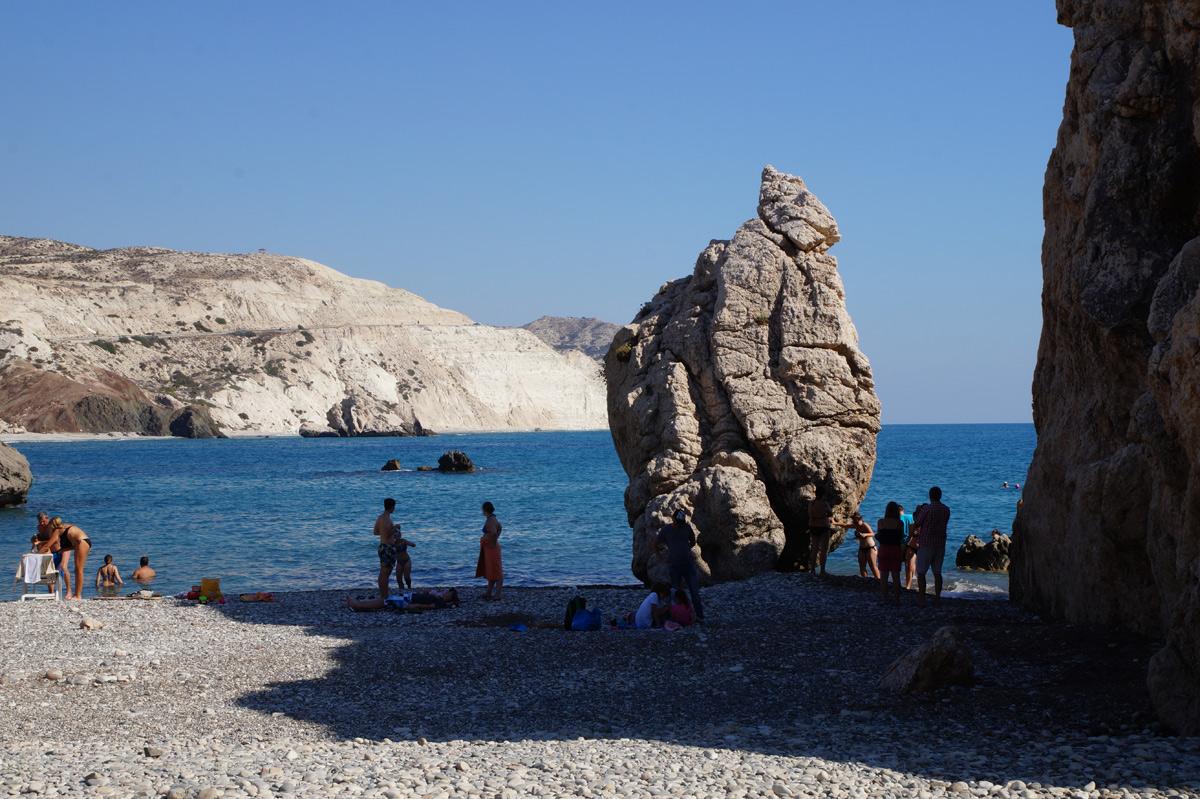 Камень Афродиты, Кипр, осень 2017