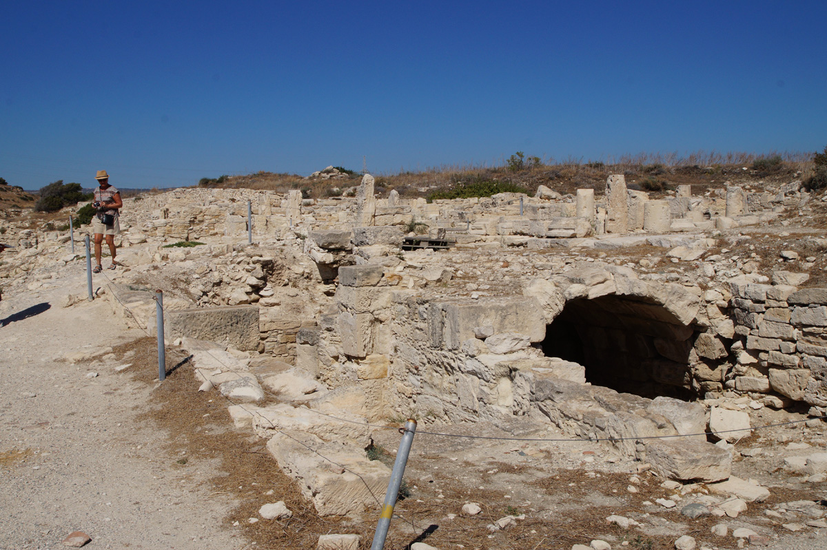 Древний город Курион. Лимассол, Кипр, осень 2017