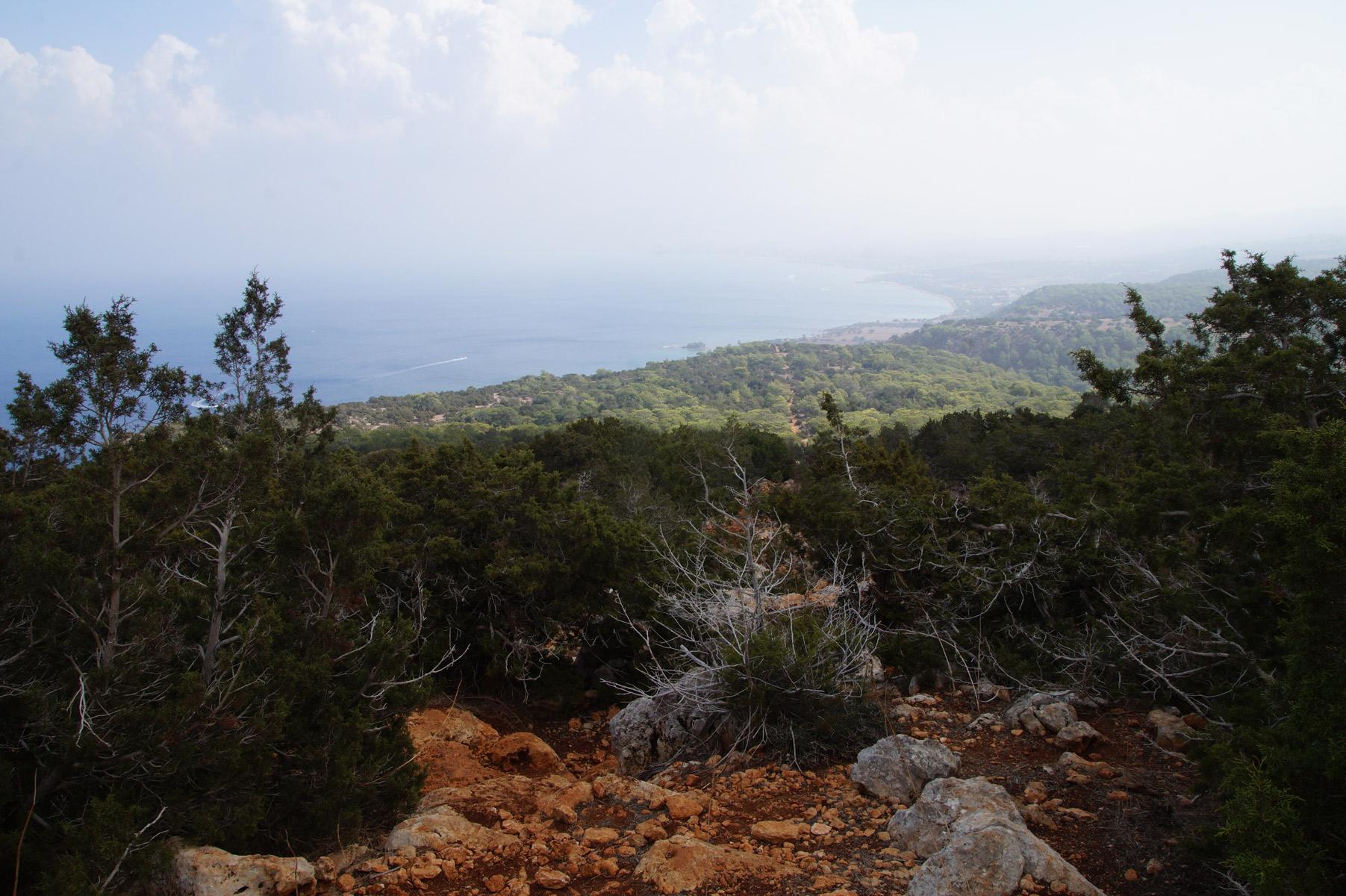 Тропа Адониса, Лачи, Кипр, осень 2018