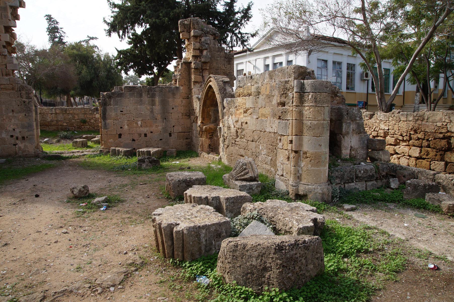 Фамагуста, Кипр, осень 2018