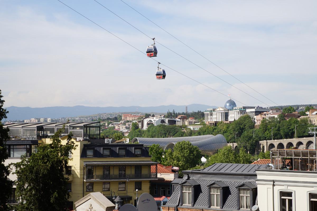 Тбилиси, Грузия, весна 2018