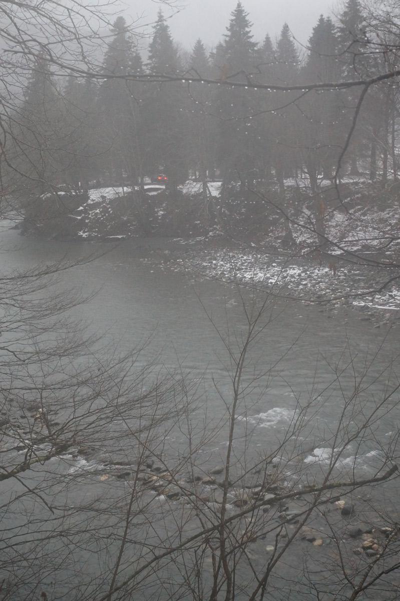 Краснодарский край, Майкоп-Гузерипль, зима 2019