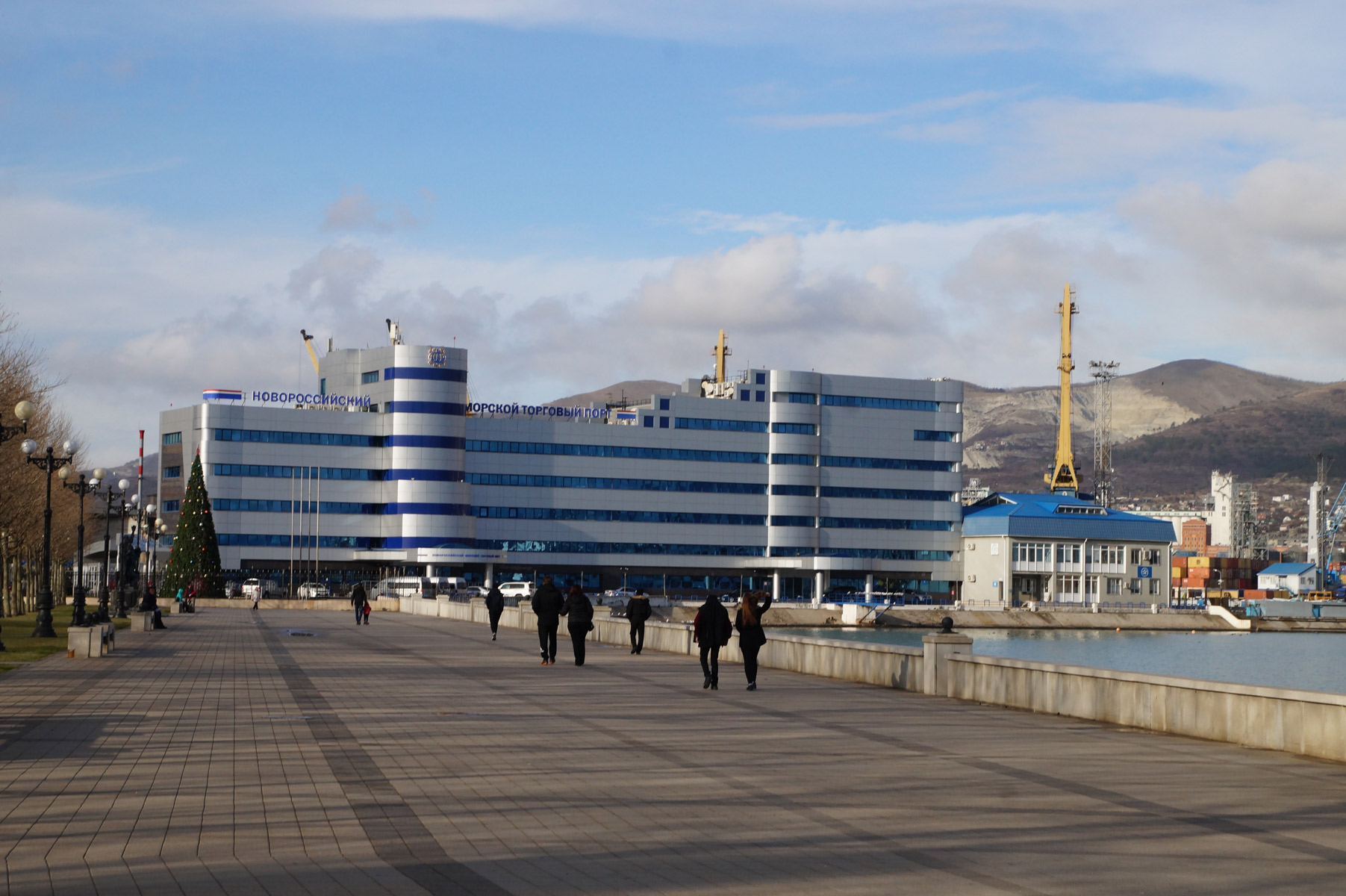 Краснодарский край, Новороссийск, зима 2019