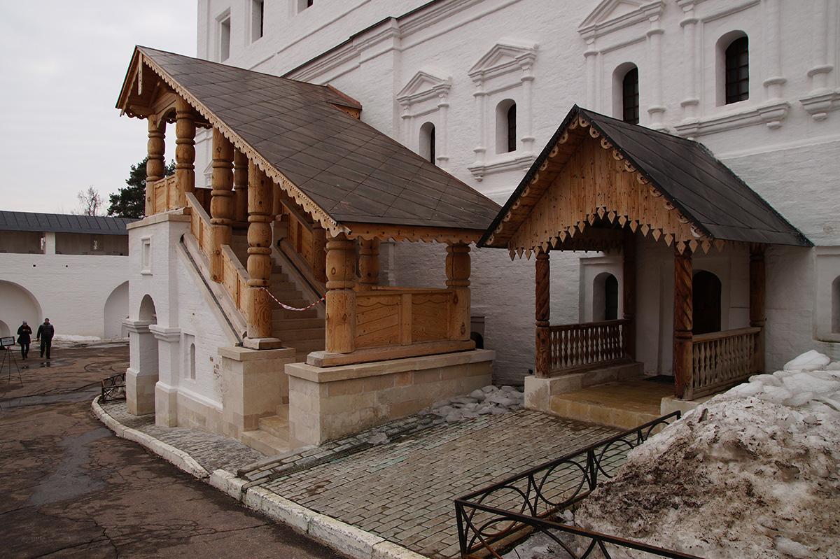 Звенигород, Подмосковье, весна 2017