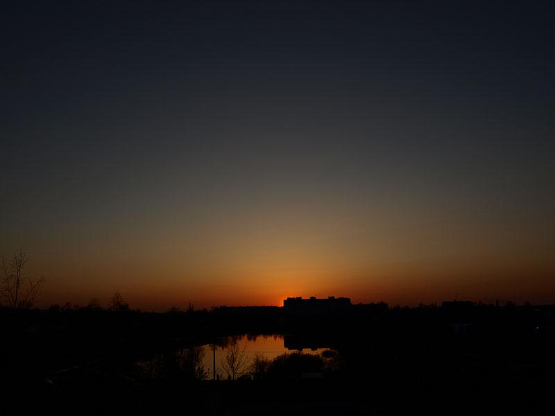 Густые сумерки... Нахабино, весна 2008