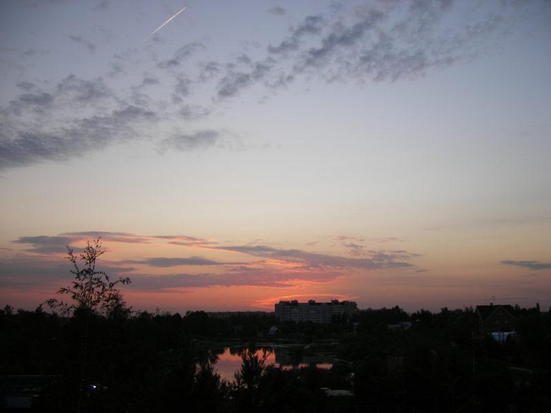 Вечер... Нахабино, лето 2007