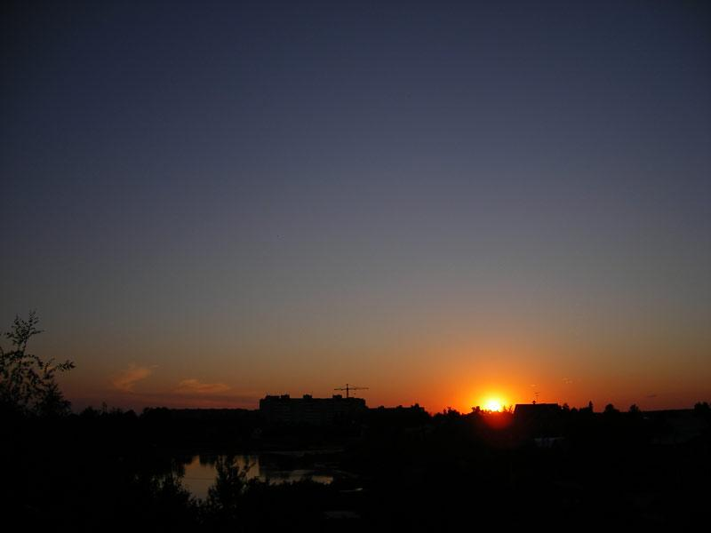 Апельсин солнца... Нахабино, лето 2007