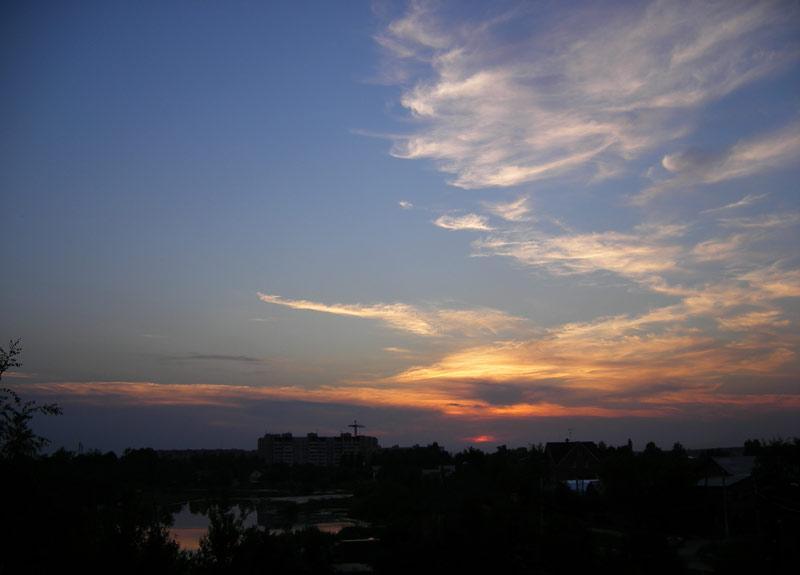 Облачный узор... Нахабино, лето 2007