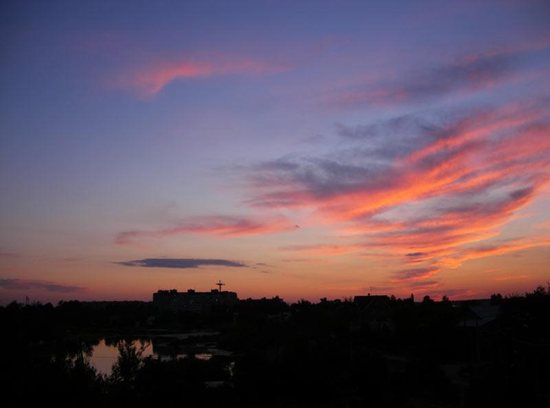 Облачное сияние Нахабино, лето 2007
