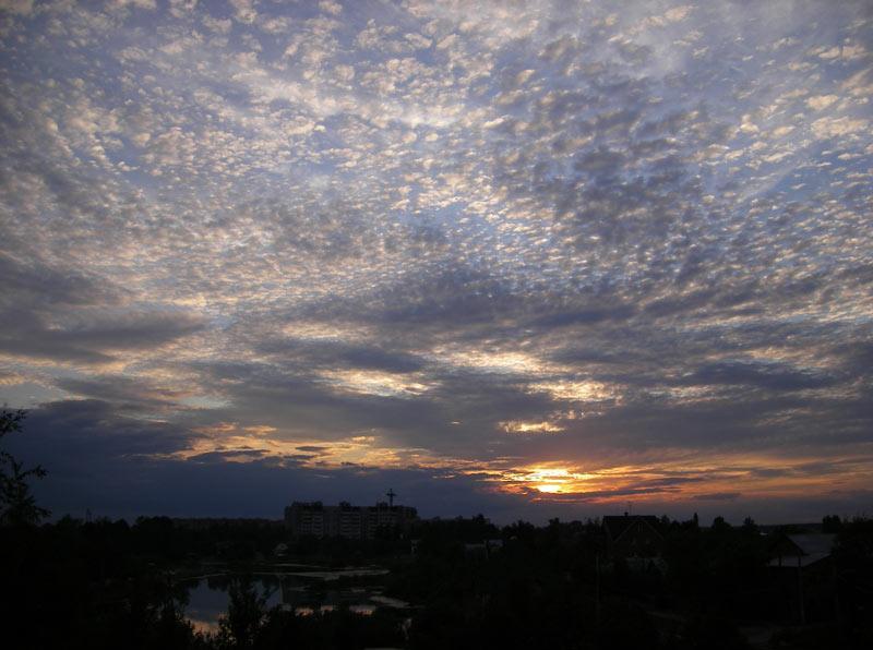 Небесная круговерть Нахабино, лето 2007
