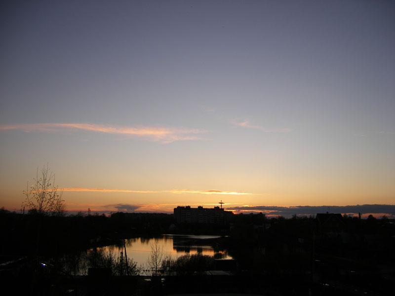 В вечерней тишине... Нахабино, весна 2007