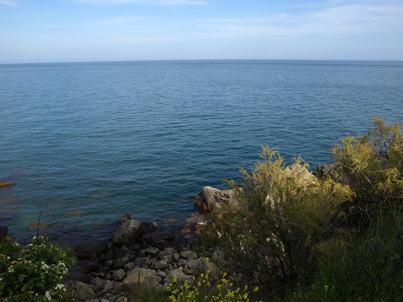 Вечернее море... Алупка, Крым, весна 2009