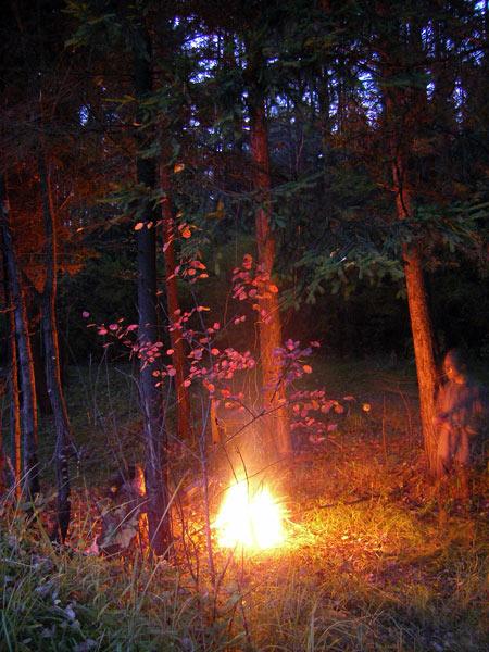 Взрыв пламени Нахабино, осень 2006
