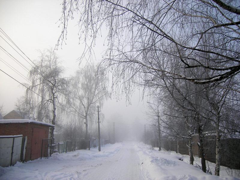 Дорога к сказке Нахабино, зима 2007