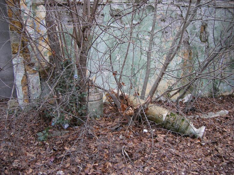Падение Ливадия, Крым, зима 2008