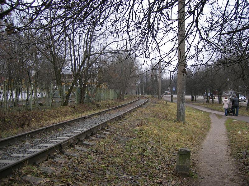 """У платформы \""""Парковая\"""" Окрестности Нахабина, осень 2006"""