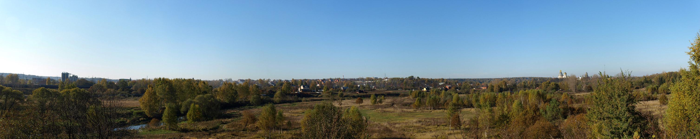 Панорама у Истры. Истра, осень 2010