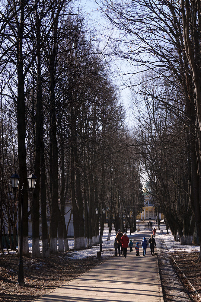 Усадьба Братцево, Москва, весна 2015