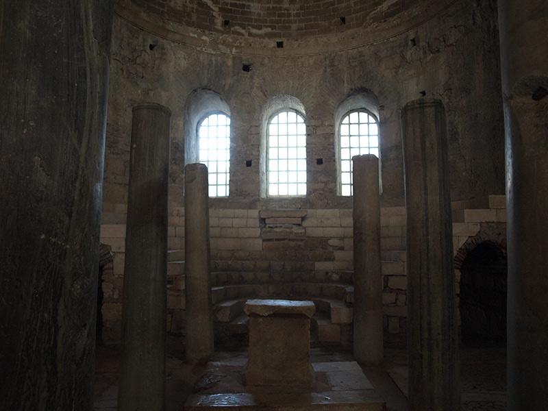 Алтарное помещение. церковь Святого Николая, Демре, Турция, осень 2013