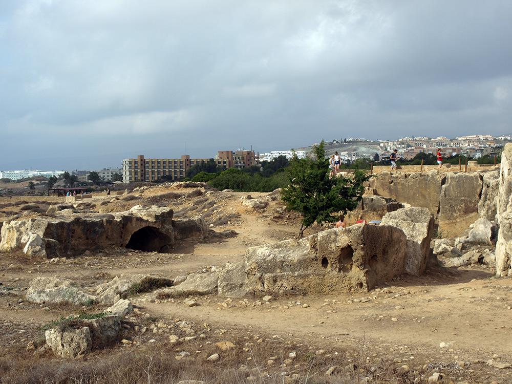 Стены и ниши. Пафос, Кипр, осень 2014