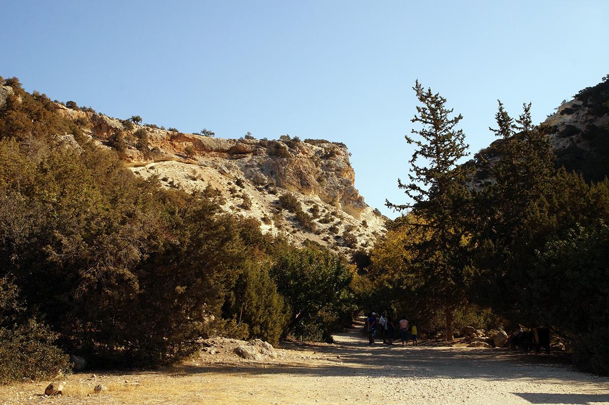 полуостров Акамас, Кипр, осень 2016