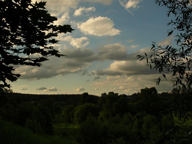 Вечернее небо. Новый Иерусалим, лето 2010