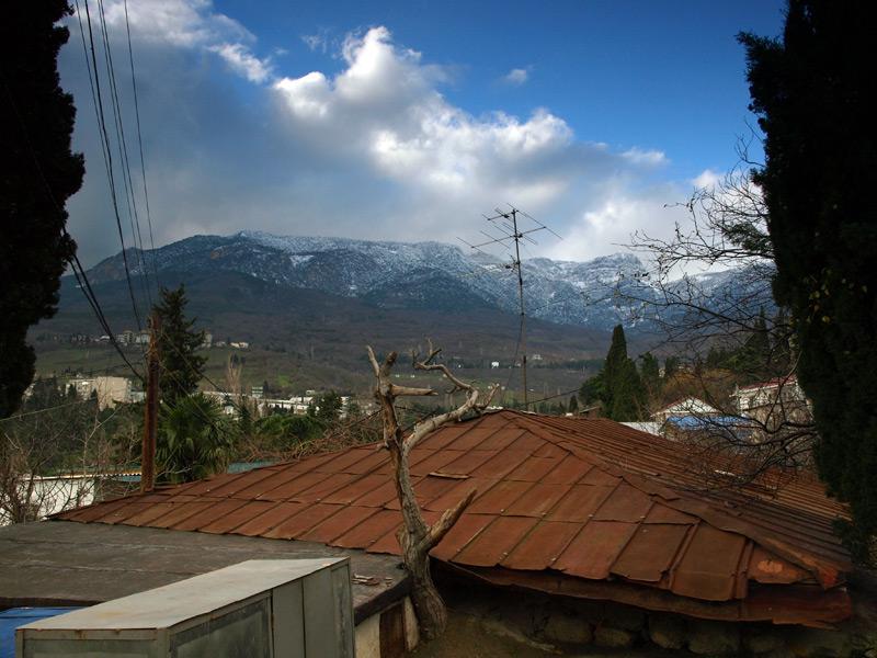 Настроение зимнего Крыма...  Гурзуф, Крым, зима 2011