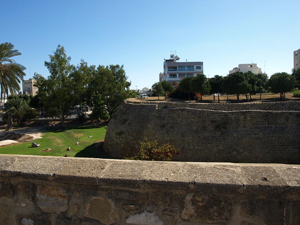 Венецианский бастион.   Никосия, Кипр, осень 2014