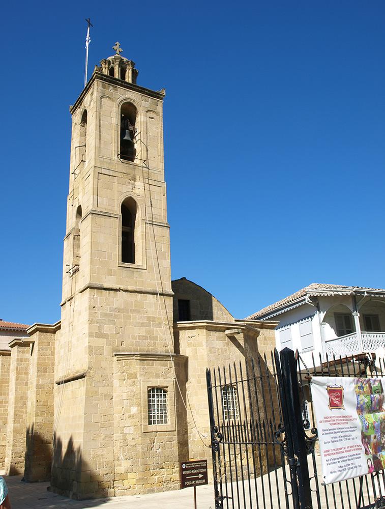 Кафедральный собор Кипра.   Никосия, Кипр, осень 2014