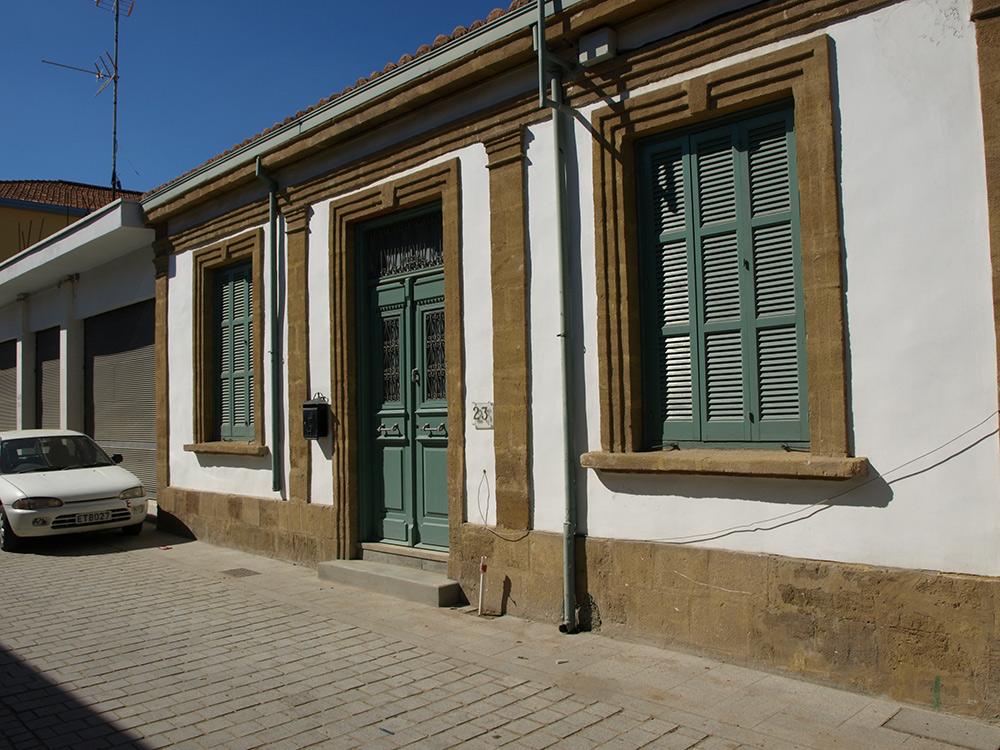 Уютный домик №23.   Никосия, Кипр, осень 2014