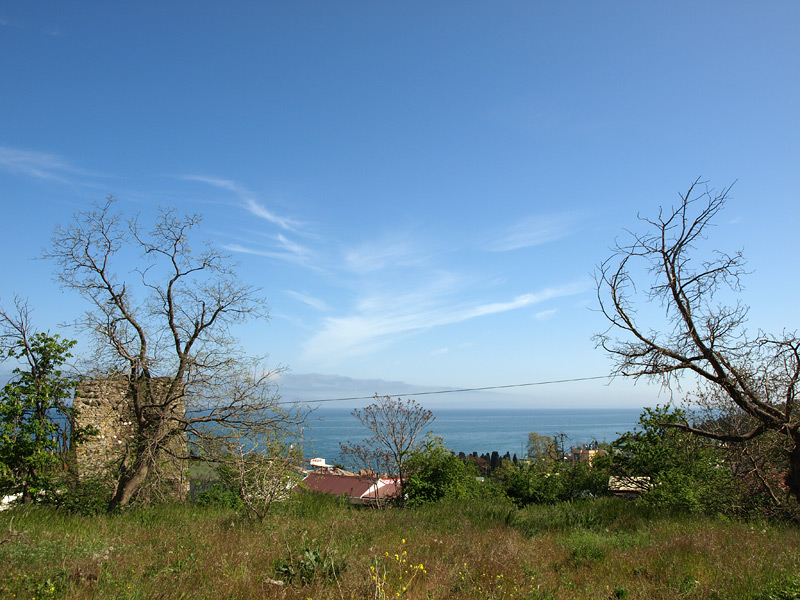 В крепости Алустон. Алушта, Крым, весна 2010