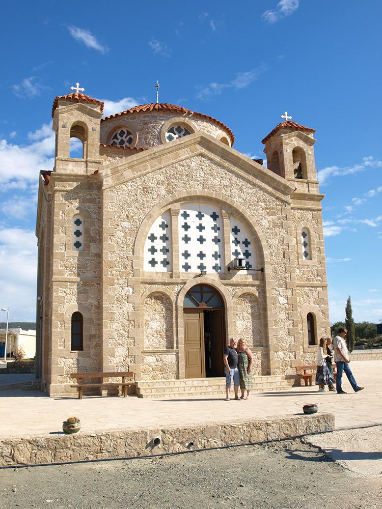 Храм Святого Георгия.   Кипр, осень 2014