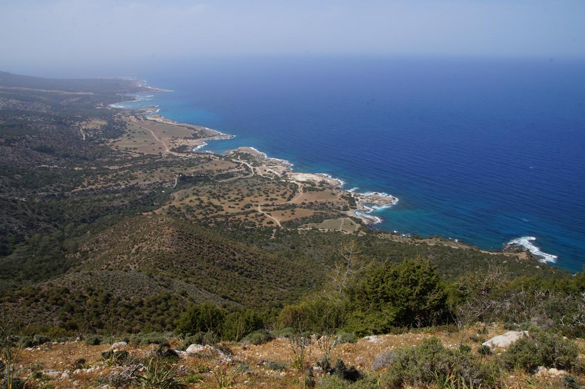 Тропа Афродиты, Лачи, Кипр, весна 2017