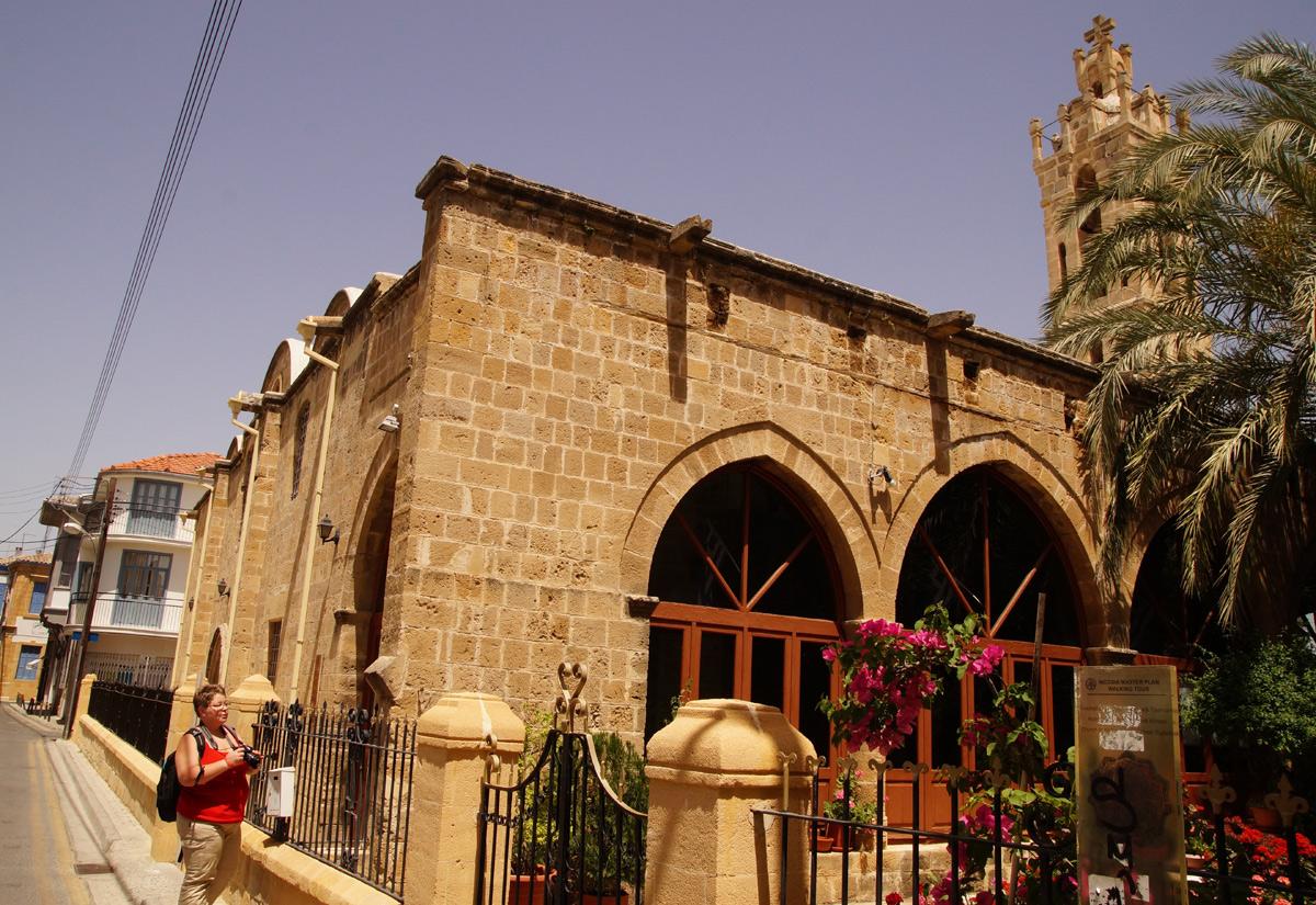 Церковь Архангела Михаила Трипиотиса. Никосия, Кипр, весна 2017