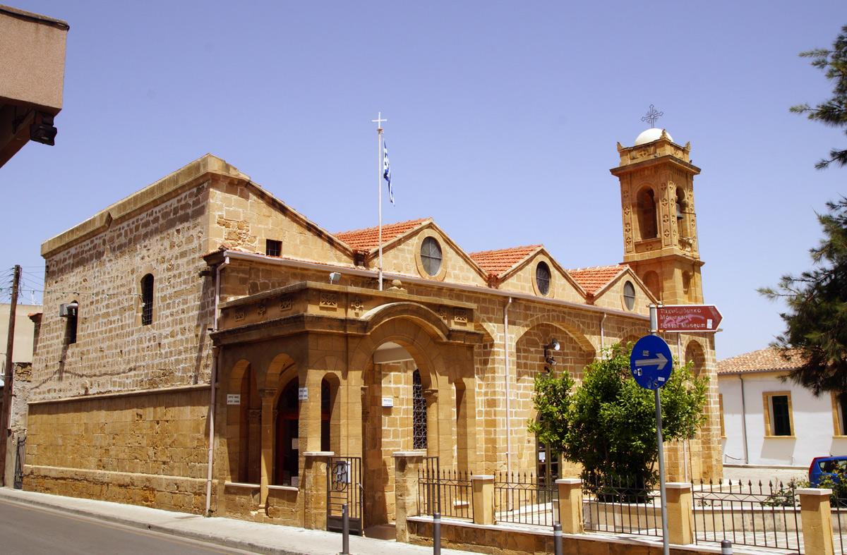 Церковь Святого Саввы. Никосия, Кипр, весна 2017