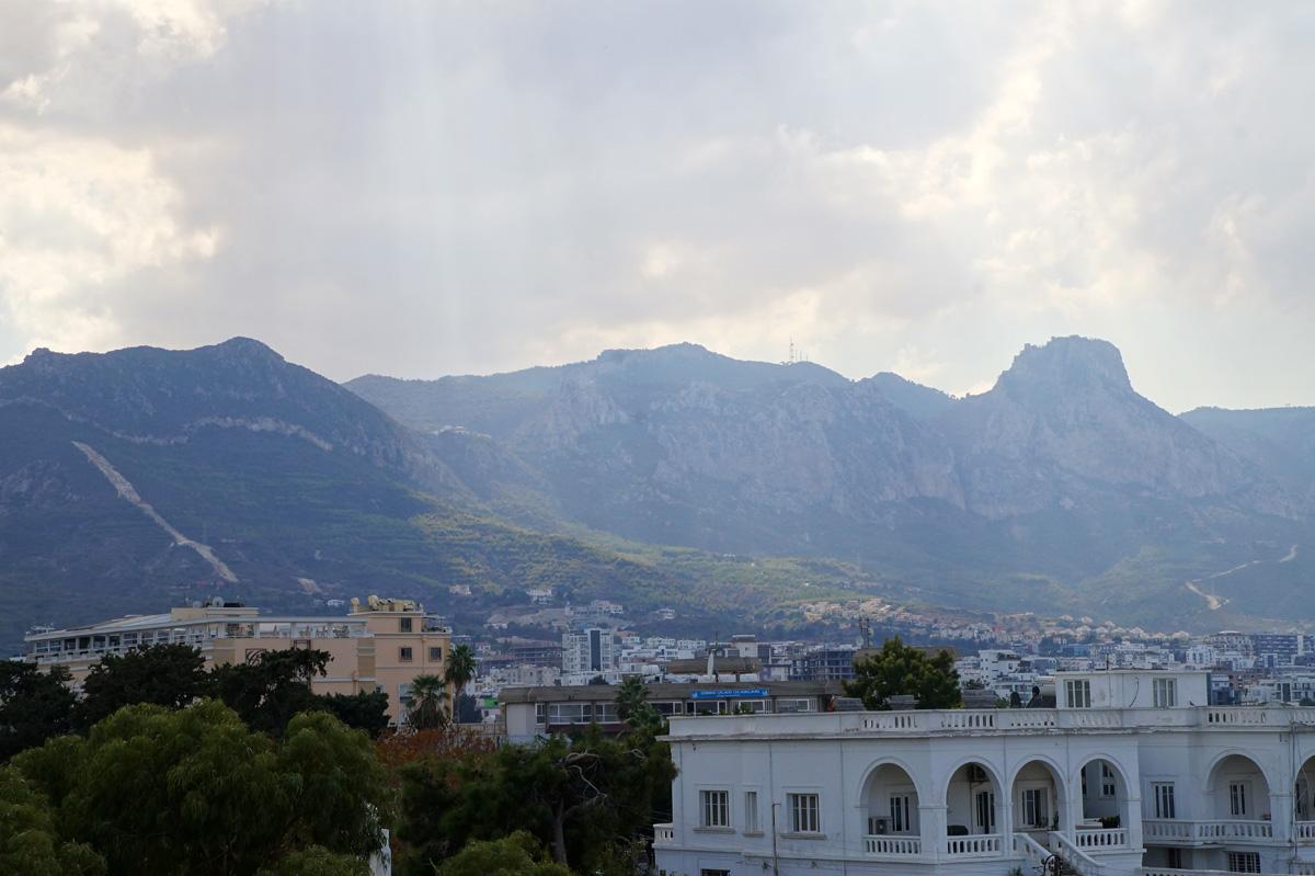 Кирения, Кипр, осень 2017