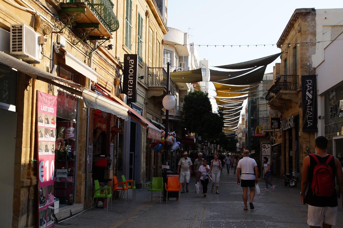Никосия, Кипр, осень 2017