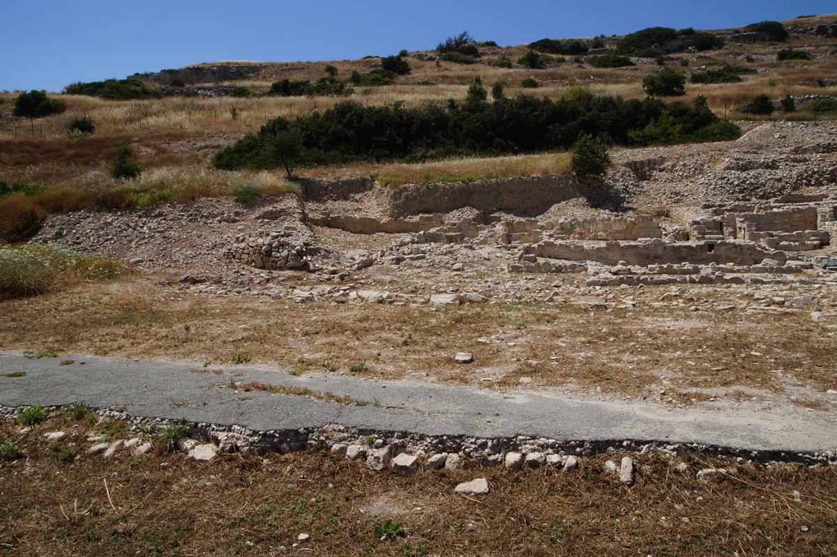 Лимассол, древний город Аматус, Кипр, весна 2017