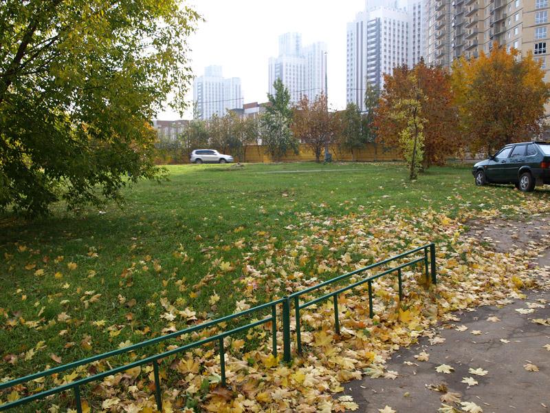 Под низким небом осени... Москва, осень 2008