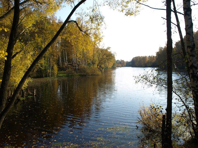 Осенний простор Нахабино, осень 2008