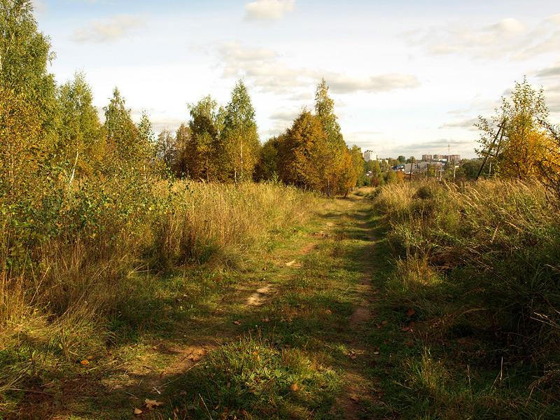 По сентябрьской дороге... Нахабино, осень 2009